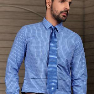 Blue-Chex-Formal-Uniform-Shirts-for-Corporate-Office-SB-113154.
