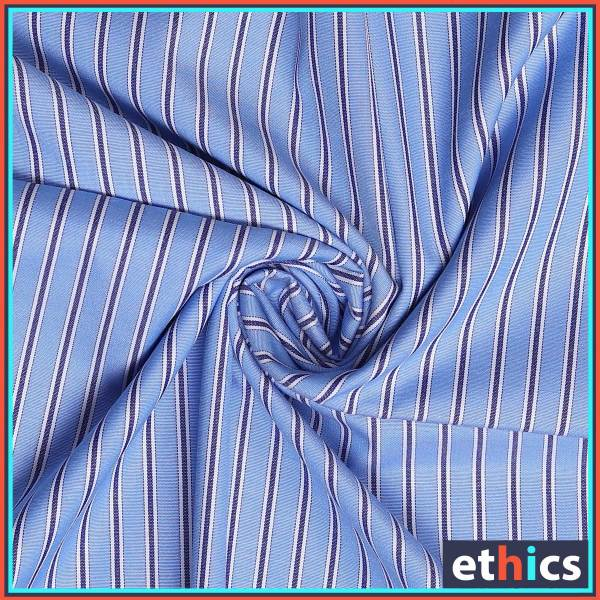 Blue-Wide-Stripes-Uniform-Shirts-Fabrics-Formal-Workwear-for-Corporate-Office-BS-85104