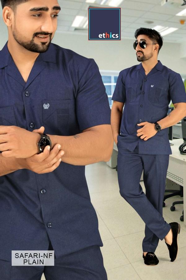 Corporate-Uniforms-Safari-Suit-Fabrics-For-Security-Staff-1044