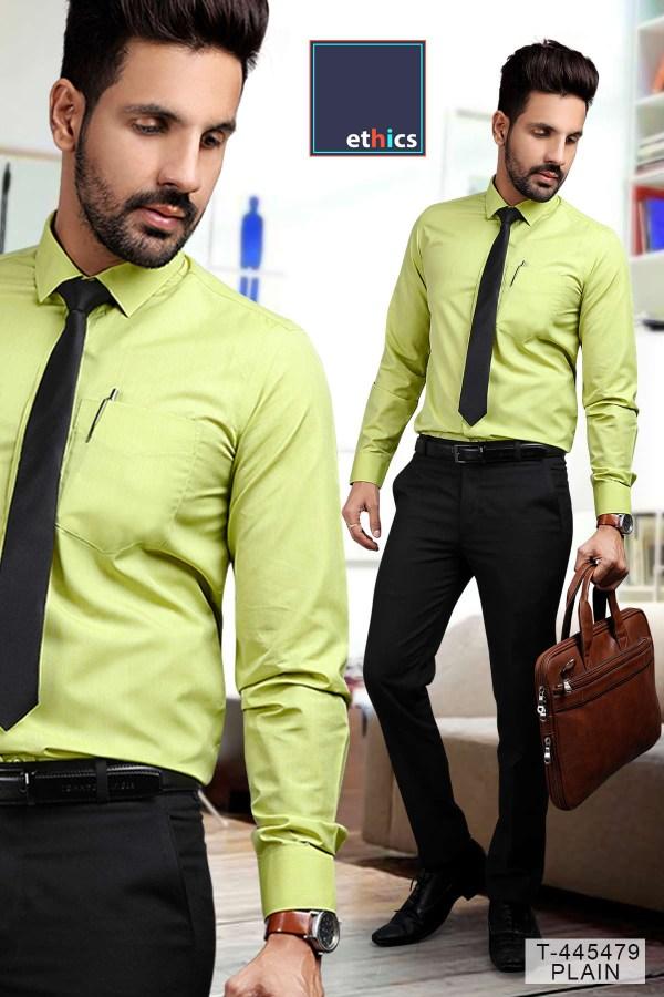 Green-Color-Men's-Formal-Uniform-Set-T-445479