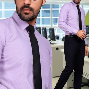 Light-Blue-Plain-Uniform-Shirts-Trousers-Set-for-Office-Staff-T-445468