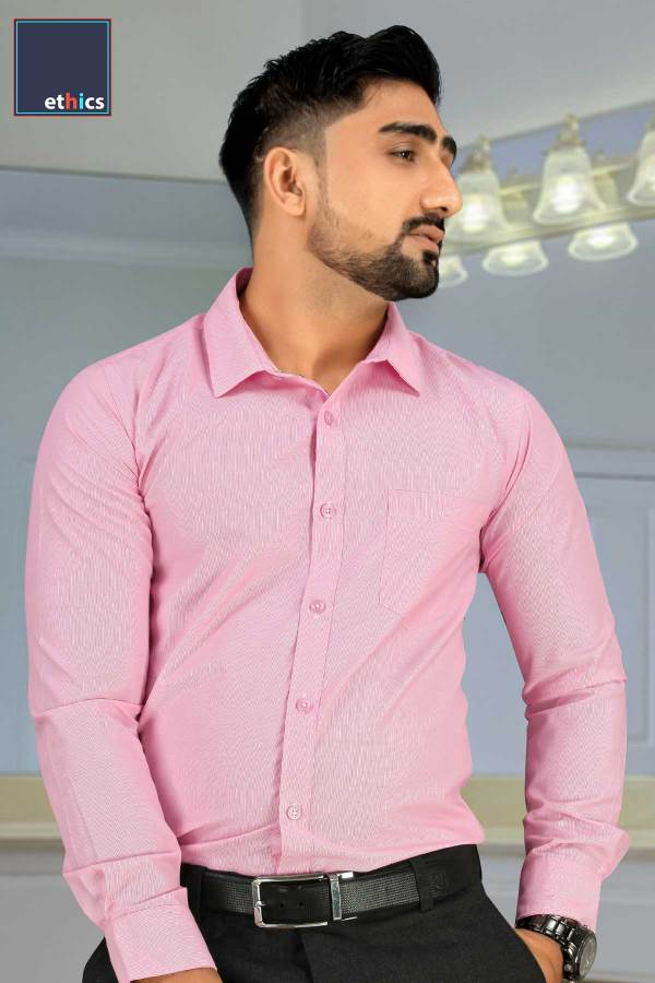 Pink-Micro-Stripes-Mens-Uniform-Shirts-for-Corporate-Office-MS-93001-N