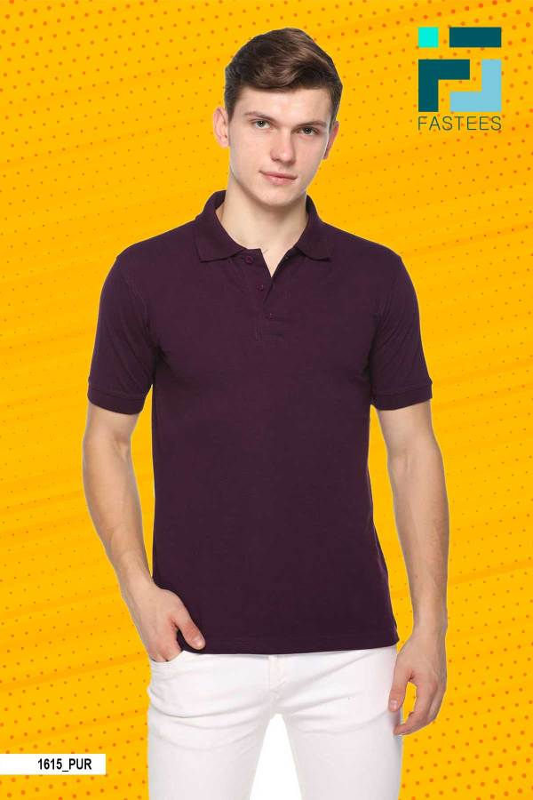 Purple-Cotton-Polo-T-Shirt-For-Promotional-Activities-1615_PUR