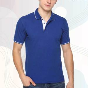 Royal-Blue-White-Pure-Cotton-Student-Event-Polo-T-Shirt-1654_BUWH