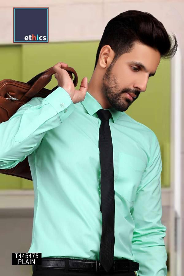 Sea-Green-Plain-Corporate-Uniform-Readymade-Shirts-T-445475