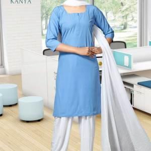 Sky-Blue-and-White-Kanya-Salwar-Kameez-for-BEd-Teacher-Uniforms-1532