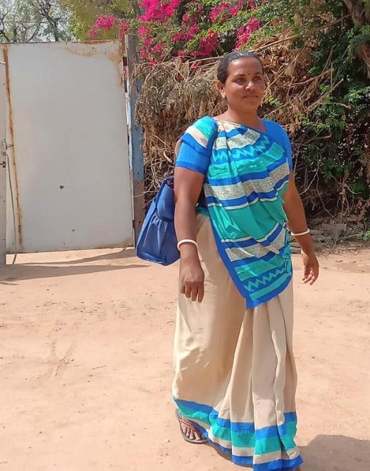 Confident lokking Suposhan Sangini