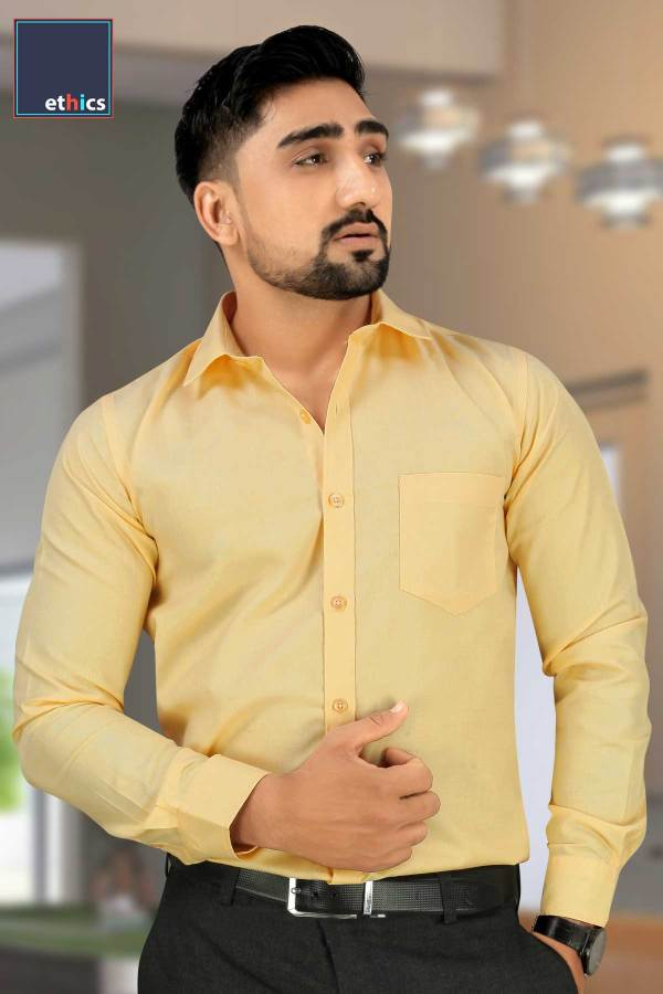 Yellow-Uniform-Shirts-for-Corporate-Workforce-T-445479-N