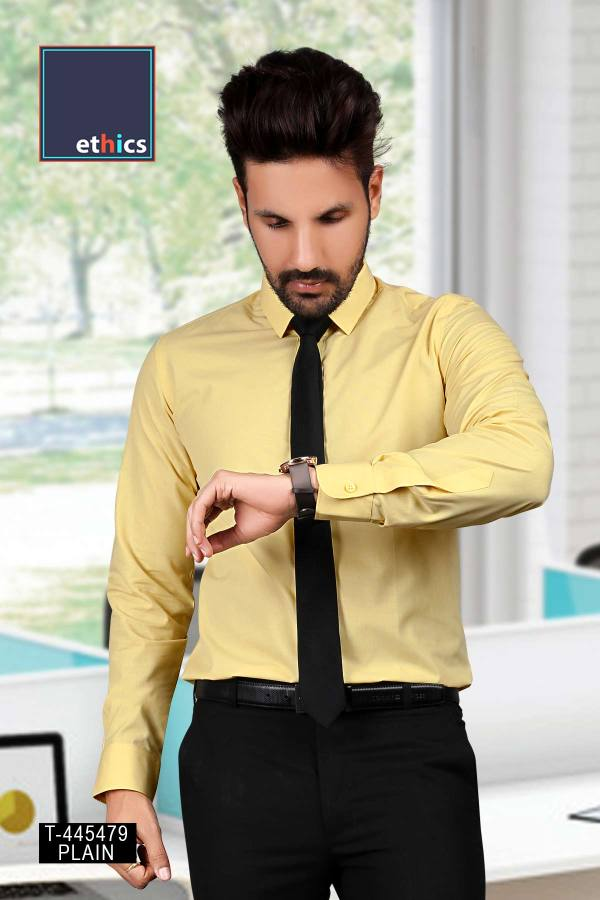 Yellow-Uniform-Shirts-for-Corporate-Workforce-T-445479