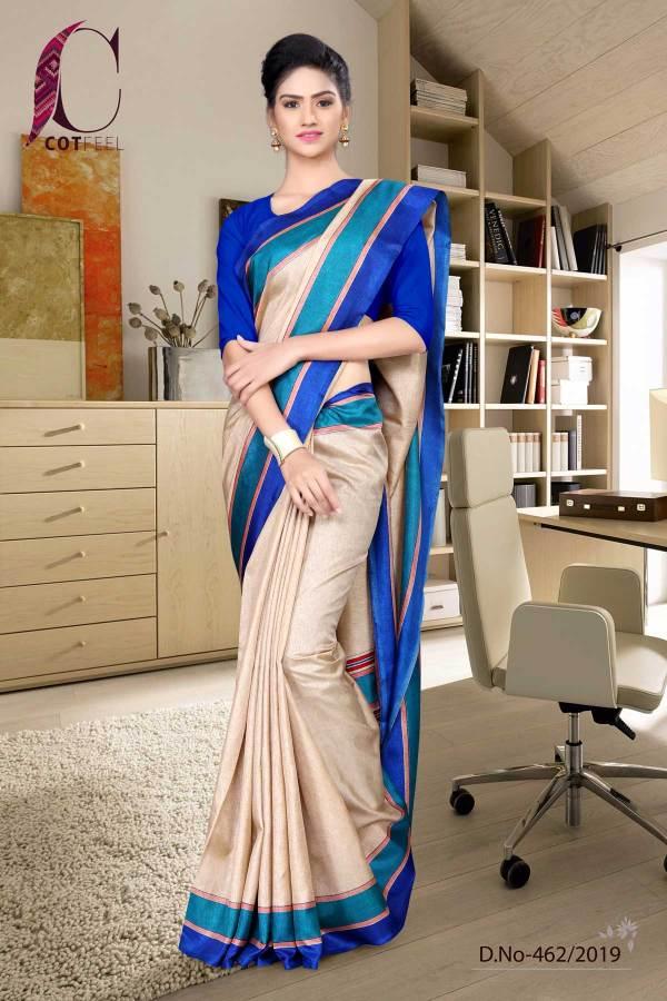 beige-and-blue-tripura-cotton-school-uniform-sarees-462-19