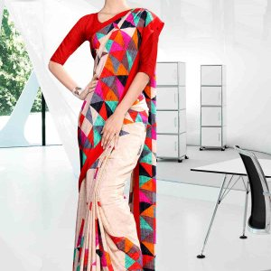 beige-and-pink-corporate-uniform-saree-839-19