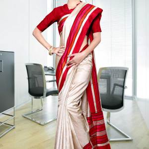 beige-red-border-tripura-cotton-uniform-saree328-17
