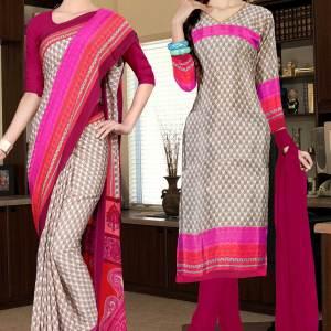 brown-and-red-italian-crepe-silk-institute-uniform-saree-salwar-combo-522-668
