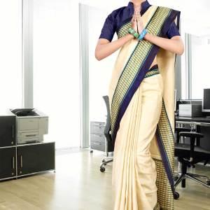 cream-navyblue-tripura-cotton-uniform-saree-201-17