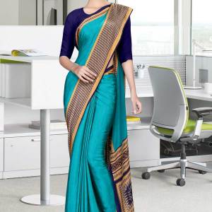 dark-blue-and-blue-italian-crepe-silk-house-uniform-saree-532