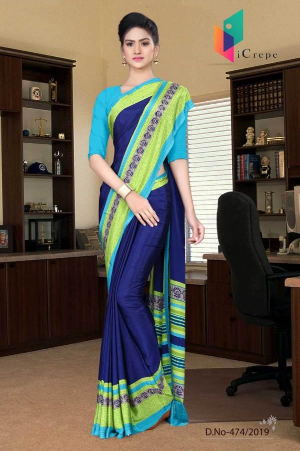 dark-blue-and-turquoise-italian-crepe-silk-institution-uniform-saree-474