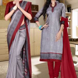 grey-and-maroon-tripura-cotton-college-uniform-sarees-combo-456-608
