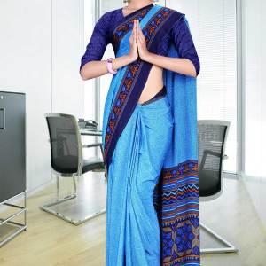 light-blue-with-dark-blue-border-italian-crepe-uniform-saree-28-15