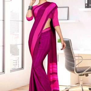 majenta-dark-pink-premium-italian-silk-crepe-saree--for-institution-uniform-sarees-1604