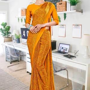 musterd-paisley-print-premium-italian-crepe-uniform-sarees-for-hospitals-1094-21