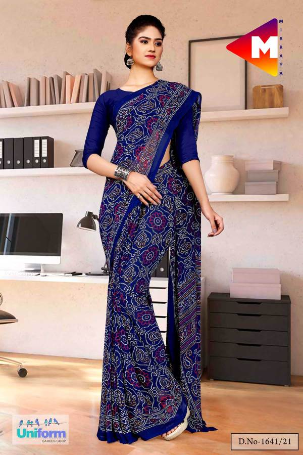 navy-blue-premium-georgette-bandhej-print-religious-ocassions-sarees-for-rajasthani-bandhani-1641