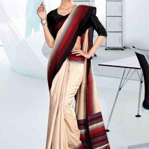 off-white-and-black-tripura-cotton-institute-uniform-saree-845-19
