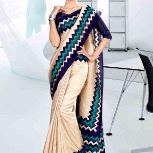 off-white-and-blue-cotton-school-uniform-saree-813-19