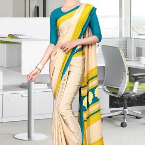 off-white-and-blue-italian-crepe-silk-anganwadi-uniform-saree-484-19