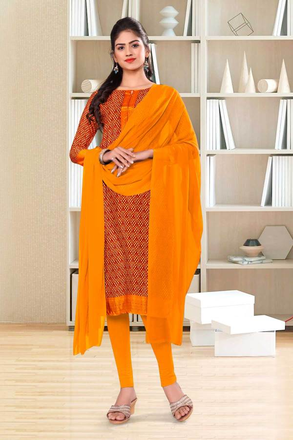 orange-small-print-premium-italian-silk-crepe-salwar-kameez-for-hospital-uniform-sarees-01004