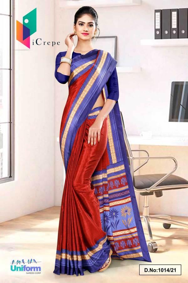 red-ink-blue-premium-italian-silk-crepe-saree-for-student-uniform-sarees-1014-21