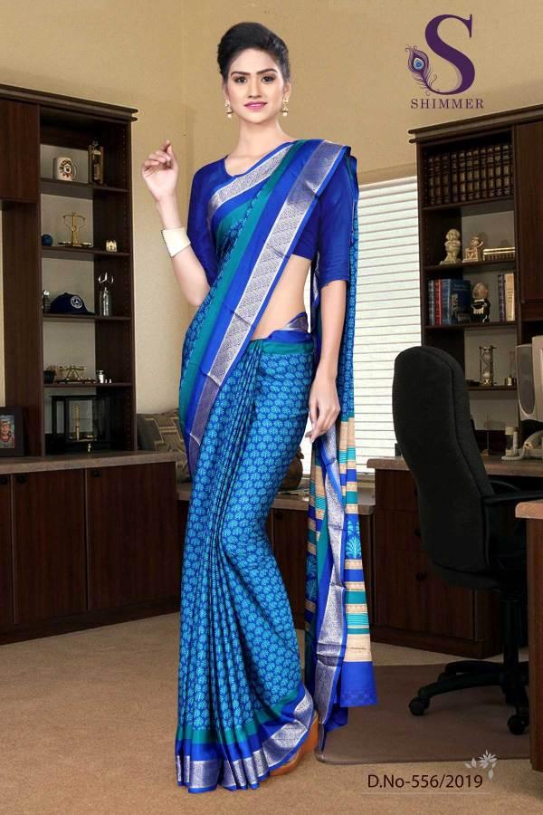 sky-blue-blue-silk-crepe-jaquard-border-institute-uniform-sarees-556