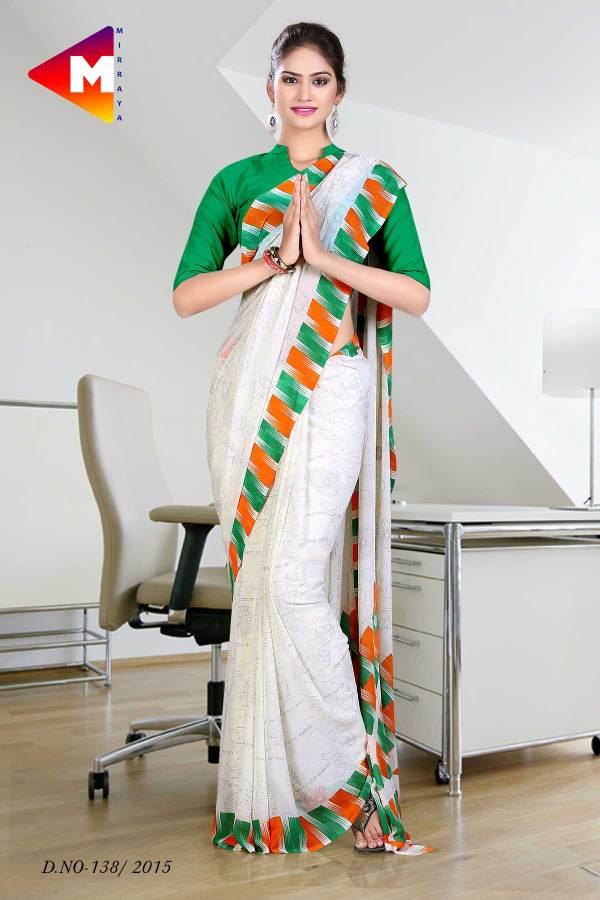 tiranga-border-georgette-uniform-sarees-independence-day-special-138