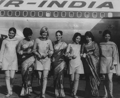 Vintage-Air-India-Uniform-Sarees-3