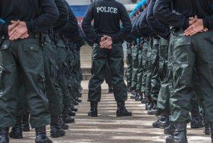 modern police uniform