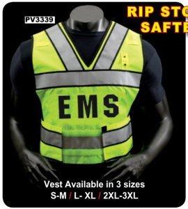 Premier Emblem Ripstop Nylon Safety Vest - PV3339