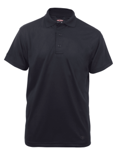 TRU-SPEC Men's Short Sleeve Performance Polo - BLACK - 4336F