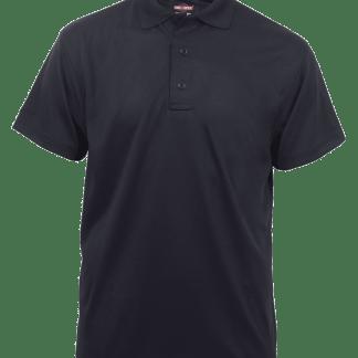 TRU-SPEC Men's Short Sleeve Performance Polo - BLACK - 4336F