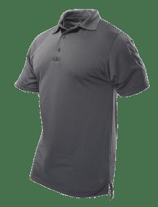 TRU-SPEC Men's Short Sleeve Performance Polo - CHARCOAL GREY - 4488F