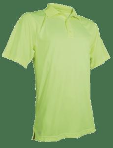 TRU-SPEC Men's Short Sleeve Performance Polo - HIVIZ YELLOW - 4070F