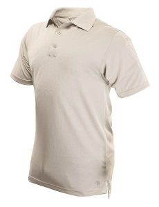 TRU-SPEC Men's Short Sleeve Performance Polo - SILVER TAN - 4494F