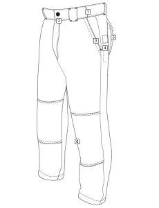 TRU-SPEC XFIRE Pants line_36f1fr