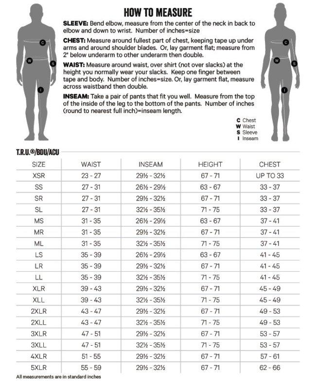 Tru-Spec Gen-1 Police BDU Trousers Size Medium-Regular