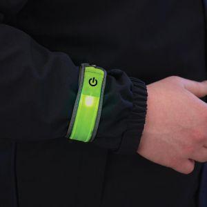 PROPPER LED Reflective Safety Band Hi Viz - F5691 - Yellow - Wrist