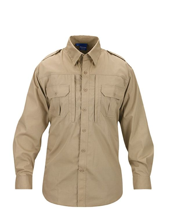PROPPER Tactical Shirt - men-long sleeve - F531250250-khaki