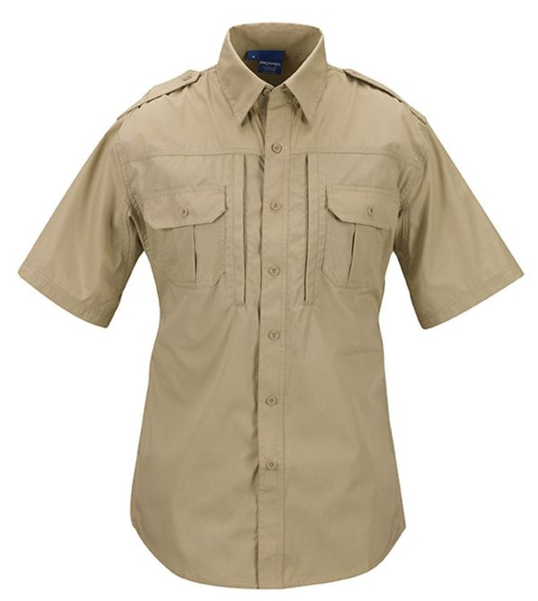 PROPPER Tactical Shirt-short-sleeve-mens-f531150250-khaki