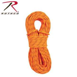 Rothco 150' Orange Rescue Rappelling Rope - 259-hr1