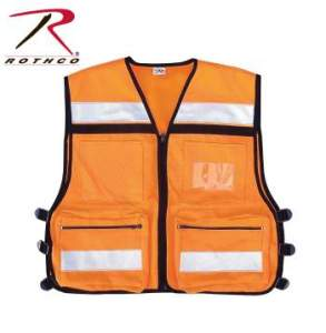 Rothco EMS Rescue Vest - 9561-A - Orange