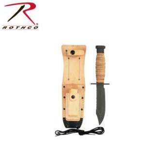 Rothco GI Pilots Survival Knife - 3278-hr1