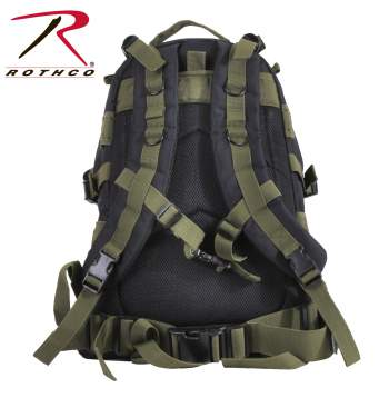 Rothco Large Transport Pack - Black-Olive Drab - 7243-D