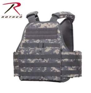 Rothco MOLLE Plate Carrier Vest - 8932-B1 - Digital Camo